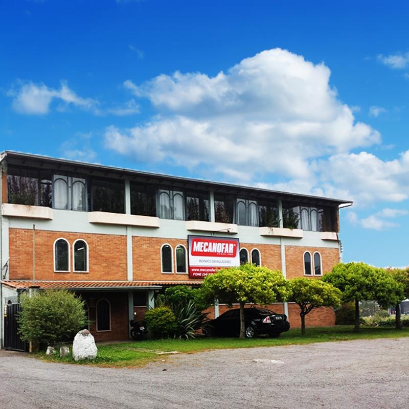 Sede da Mecanofar, cidade de Farroupilha, RS