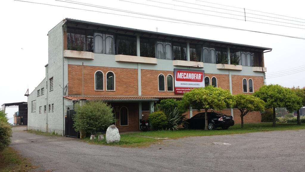 Sede da Mecanofar em Farroupilha, RS
